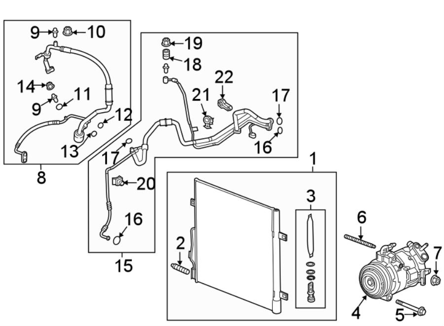 Buick Enclave A  C Compressor  Repair  Make