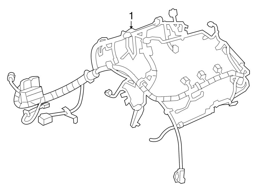 Buick Regal Engine Wiring Harness  2 0 Liter Turbo  Manual Trans