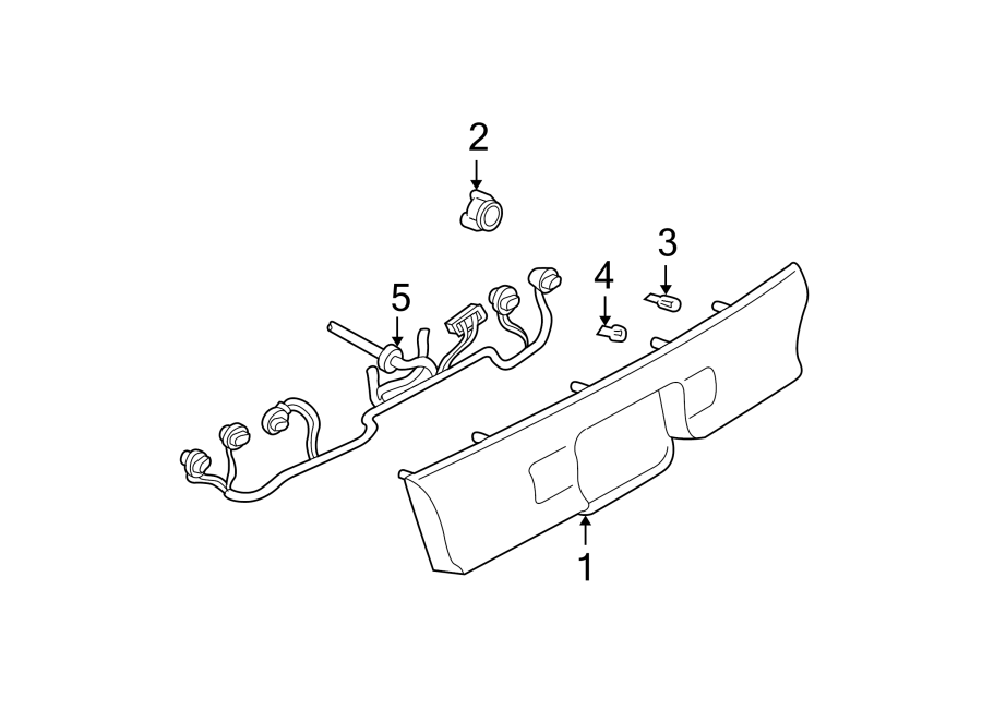Buick Regal Back Up Light Wiring Harness