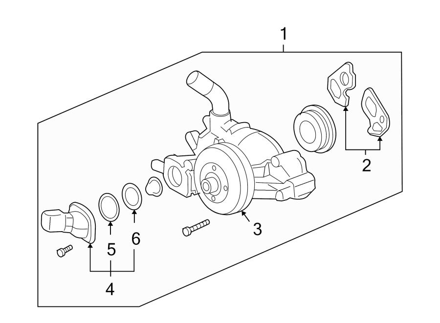 Buick Rainier Engine Coolant Thermostat