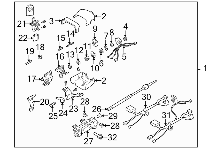 Buick Rainier Cylinder  Lock  Ignition
