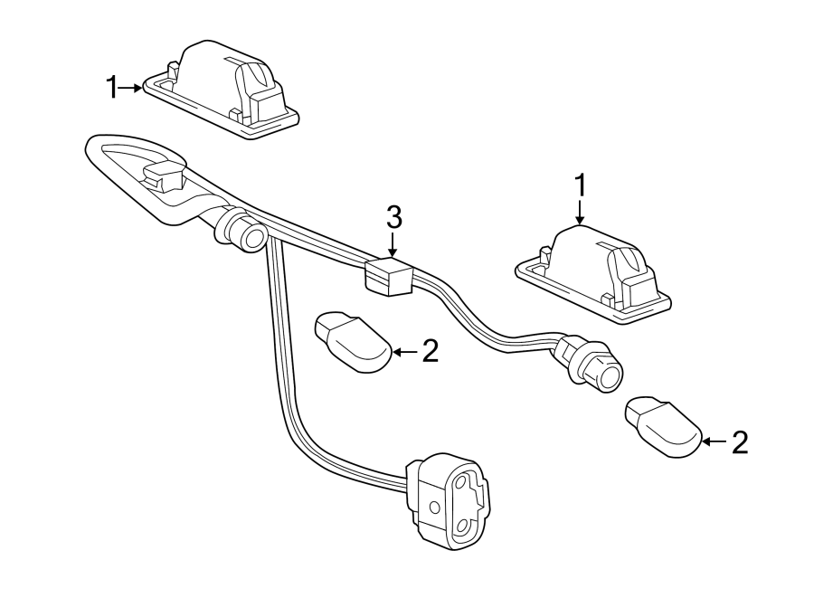 Buick Verano Parking Aid System Wiring Harness  W  Park