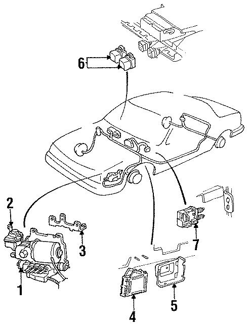 Buick Roadmaster Relay  Motor