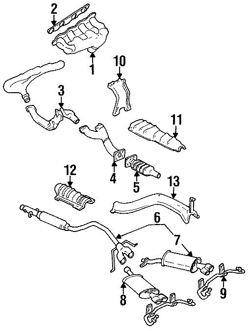 Cadillac Eldorado Exhaust Manifold Gasket  Gasket  Exhaust