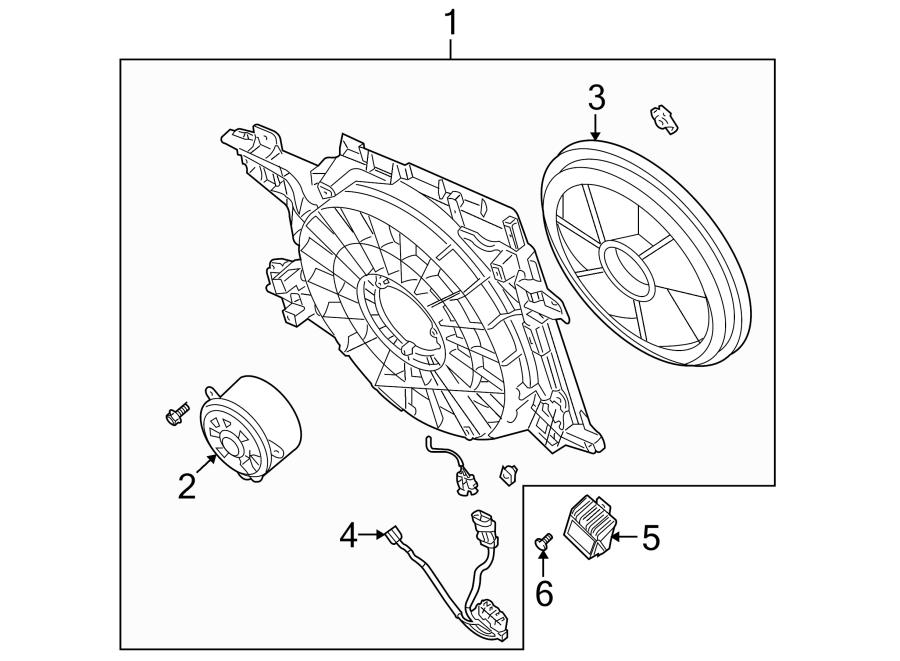 Cadillac Xlr Engine Cooling Fan Controller  4 4 Liter  4 6