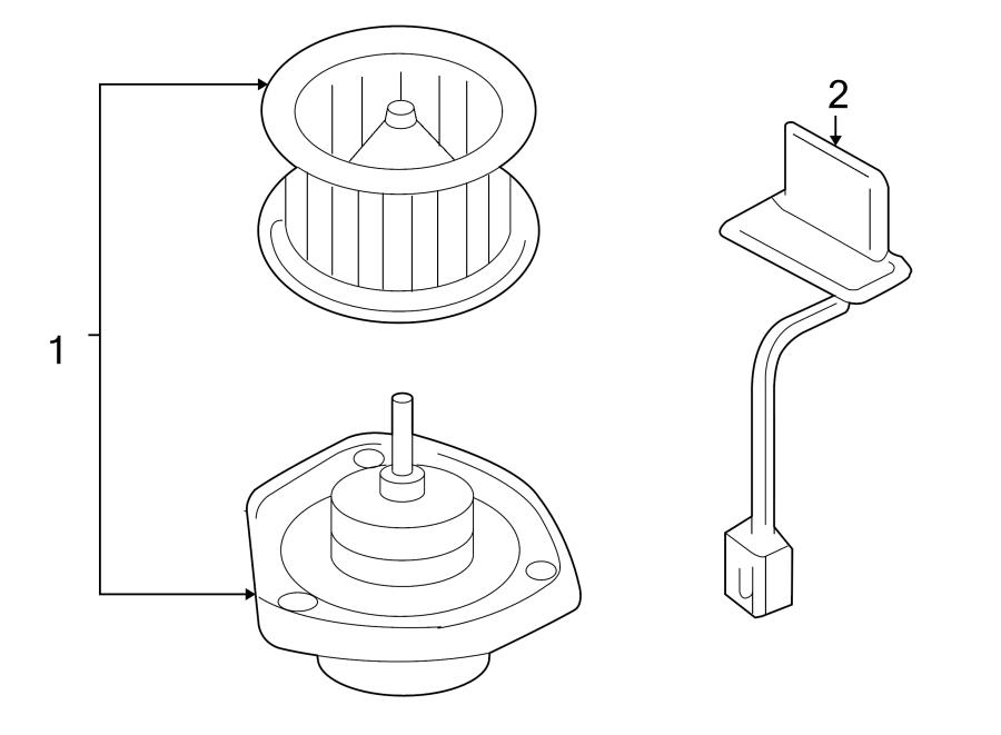 Buick Century Hvac Blower Motor Control Module  Module
