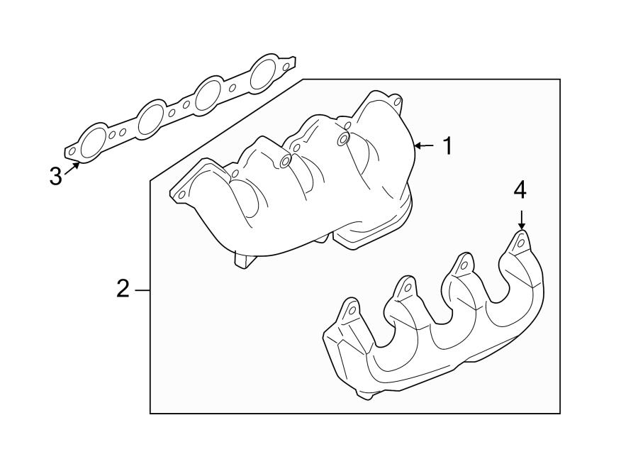 Chevrolet Camaro Exhaust Manifold  Converter  Manifold