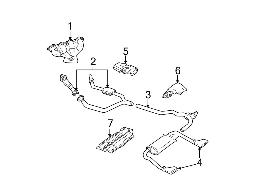 Chevrolet Camaro Exhaust Manifold. Converter. Manifold ...
