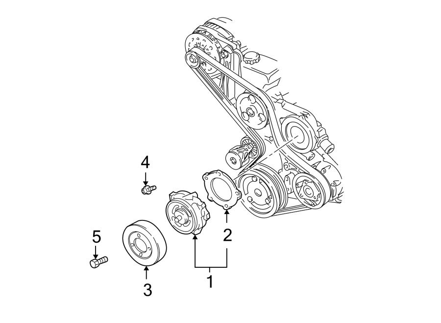 Chevrolet Monte Carlo Gasket  Water  Pump  Engine