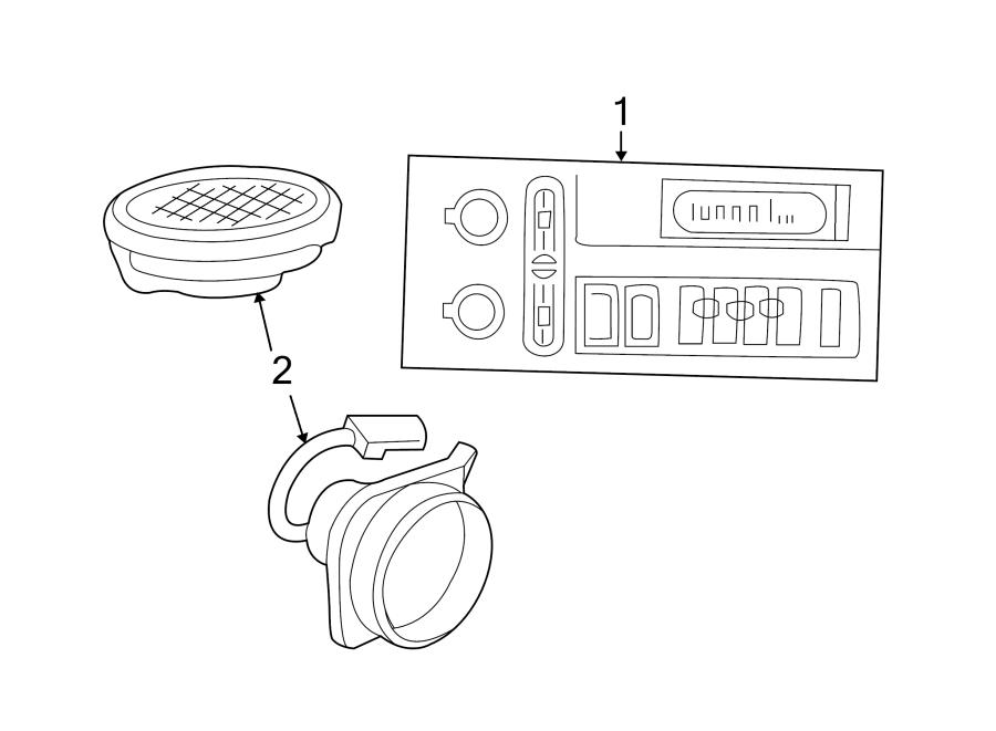 Chevrolet Monte Carlo Speaker  Front   Enhanced   W  O 6 Speaker Syste