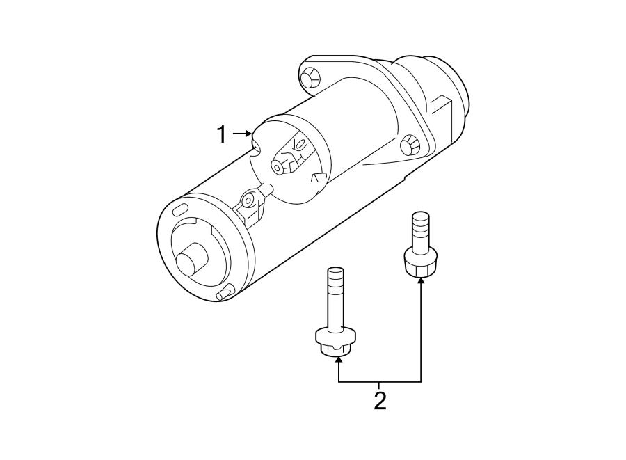 Chevrolet Monte Carlo Starter Motor  Liter