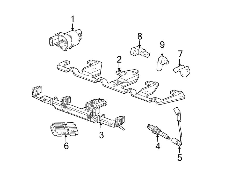 Chevrolet Suburban 1500 Spark Plug Wire Set  Liter