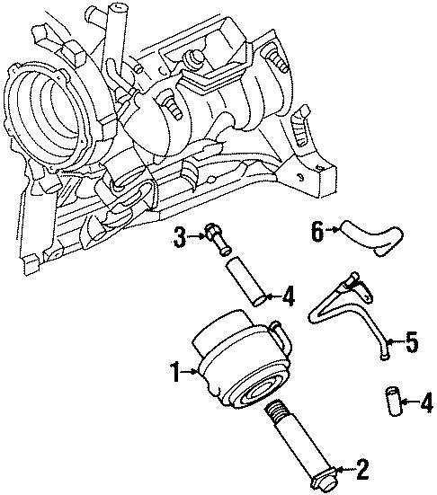 Chevrolet Monte Carlo Engine Oil Cooler