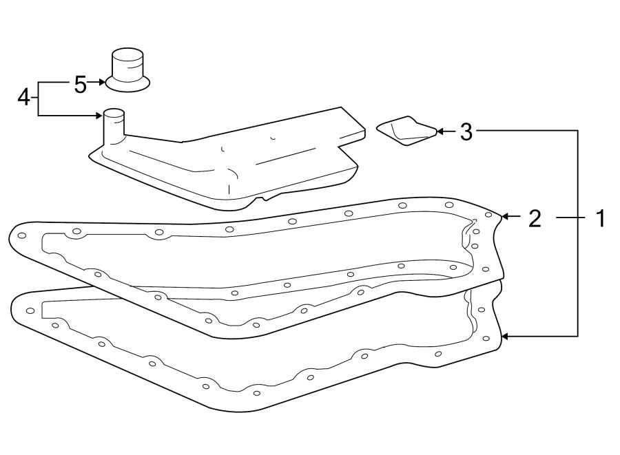 chevrolet hhr automatic transmission filter o