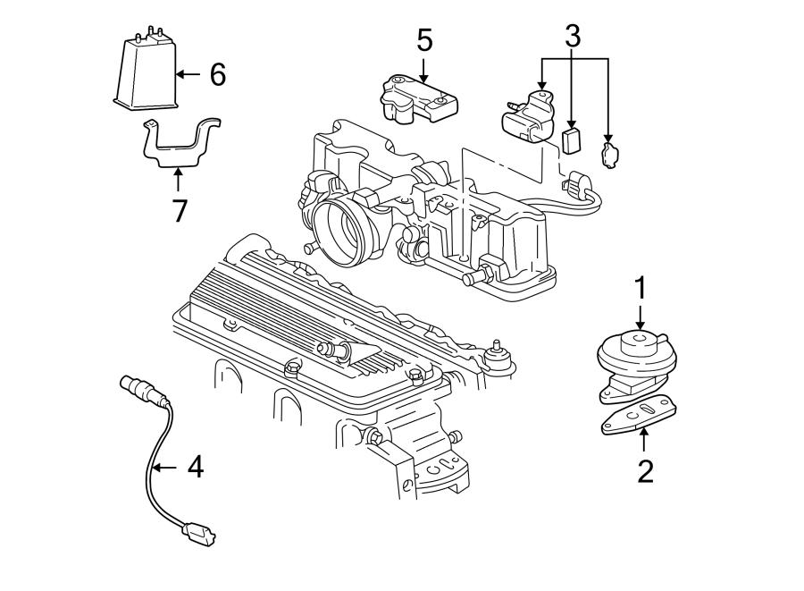 Chevrolet Cavalier Oxygen Sensor  Emission  Converter  Make