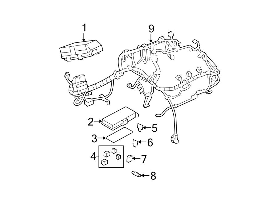 Chevrolet Malibu Engine Wiring Harness. ENGINE COMPARTMENT ...