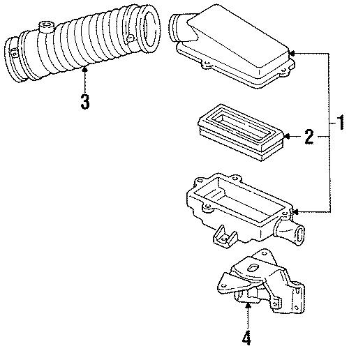 Chevrolet Lumina Air Filter - 19166106 | GM Parts ...