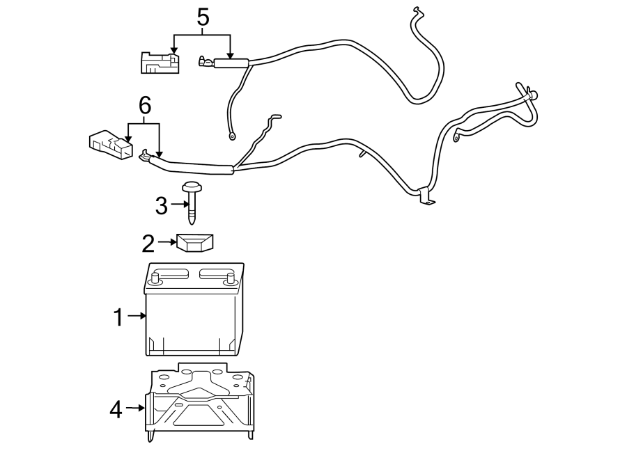 Pontiac Solstice Battery Cable