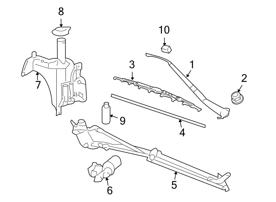 2000 Pontiac Montana Engine Diagram Window Washer