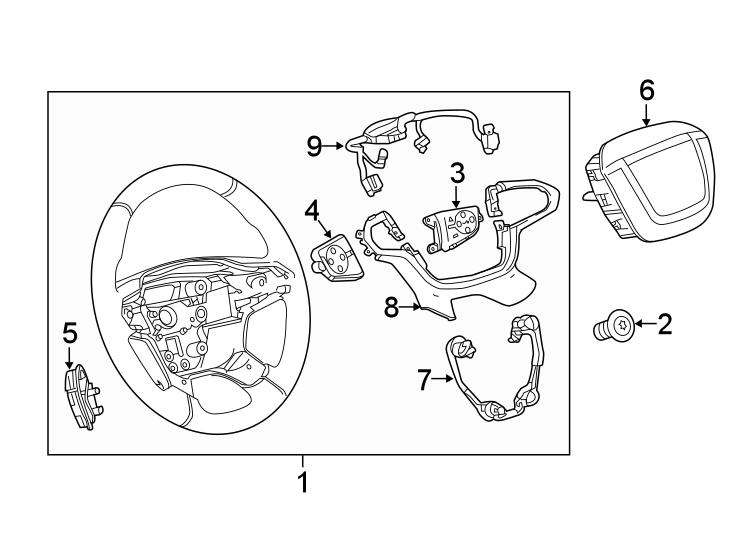 Gmc Canyon Steering Wheel Wiring Harness  Control  Design