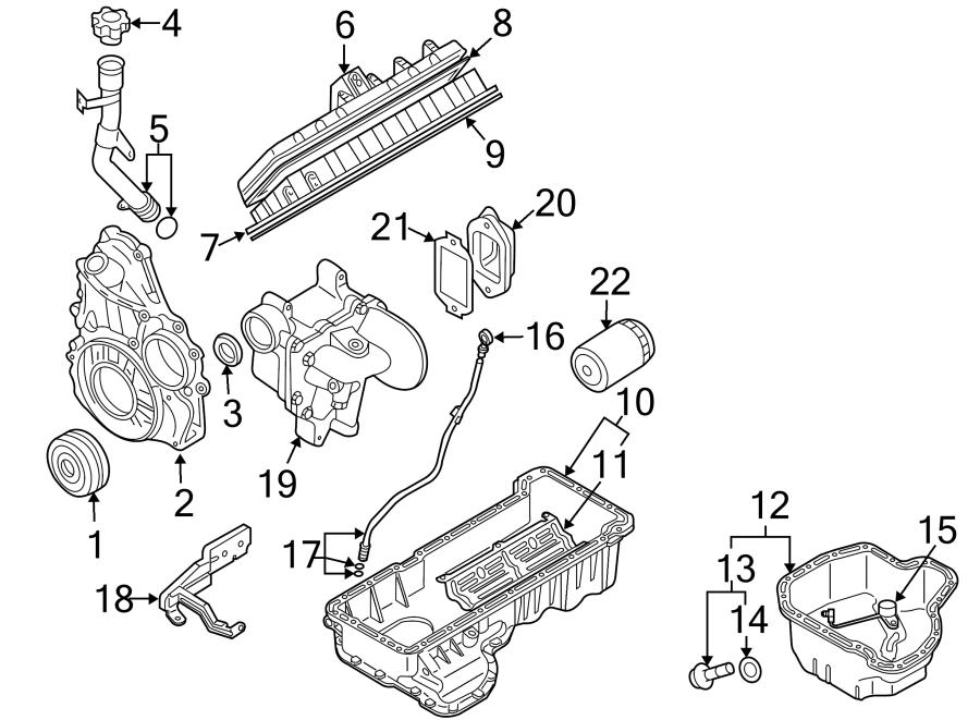 Chevrolet Silverado 2500 Hd Engine Valve Cover  Liter