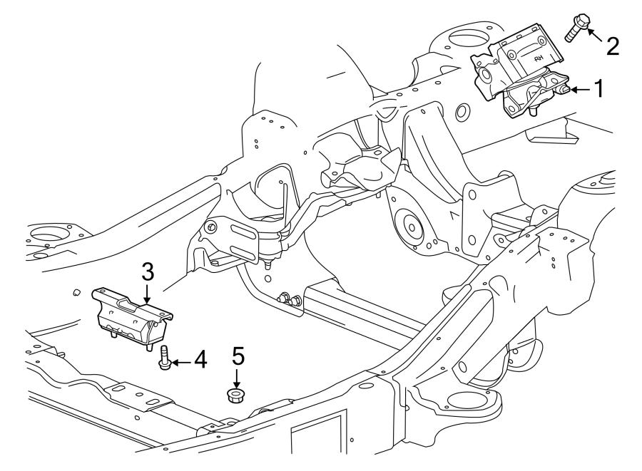 Chevrolet Silverado 1500 Engine Mount