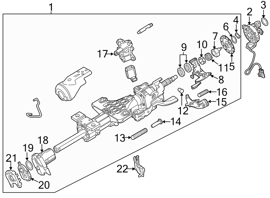 Chevrolet Silverado 2500 Hd Steering Column Tube All Wiring Diagram
