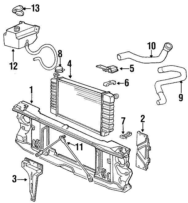 Gmc K2500 Radiator Cap
