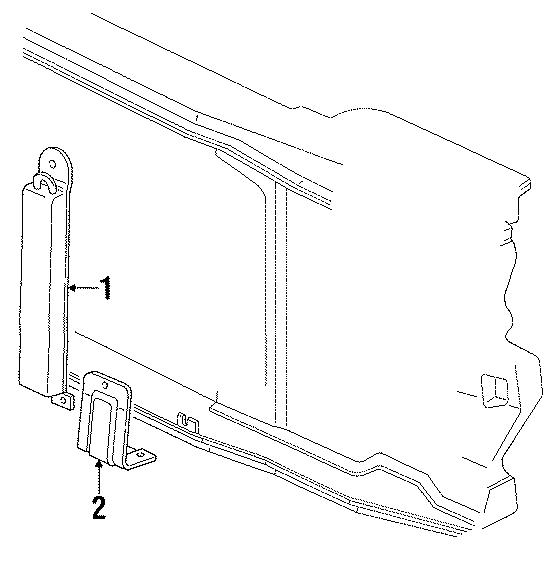 Chevrolet C1500 Power Steering Cooler  Upper