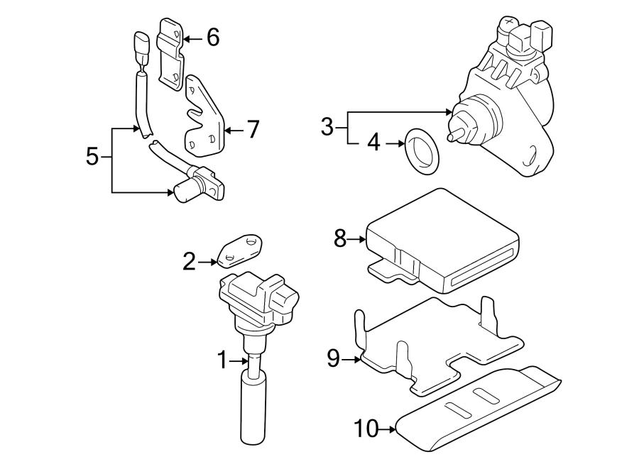 Chevrolet Tracker Engine Control Module  2 0 Liter