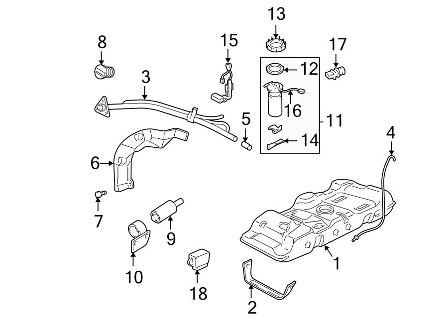 Chevrolet Venture Fuel Pump Wiring Harness. All. Long ...