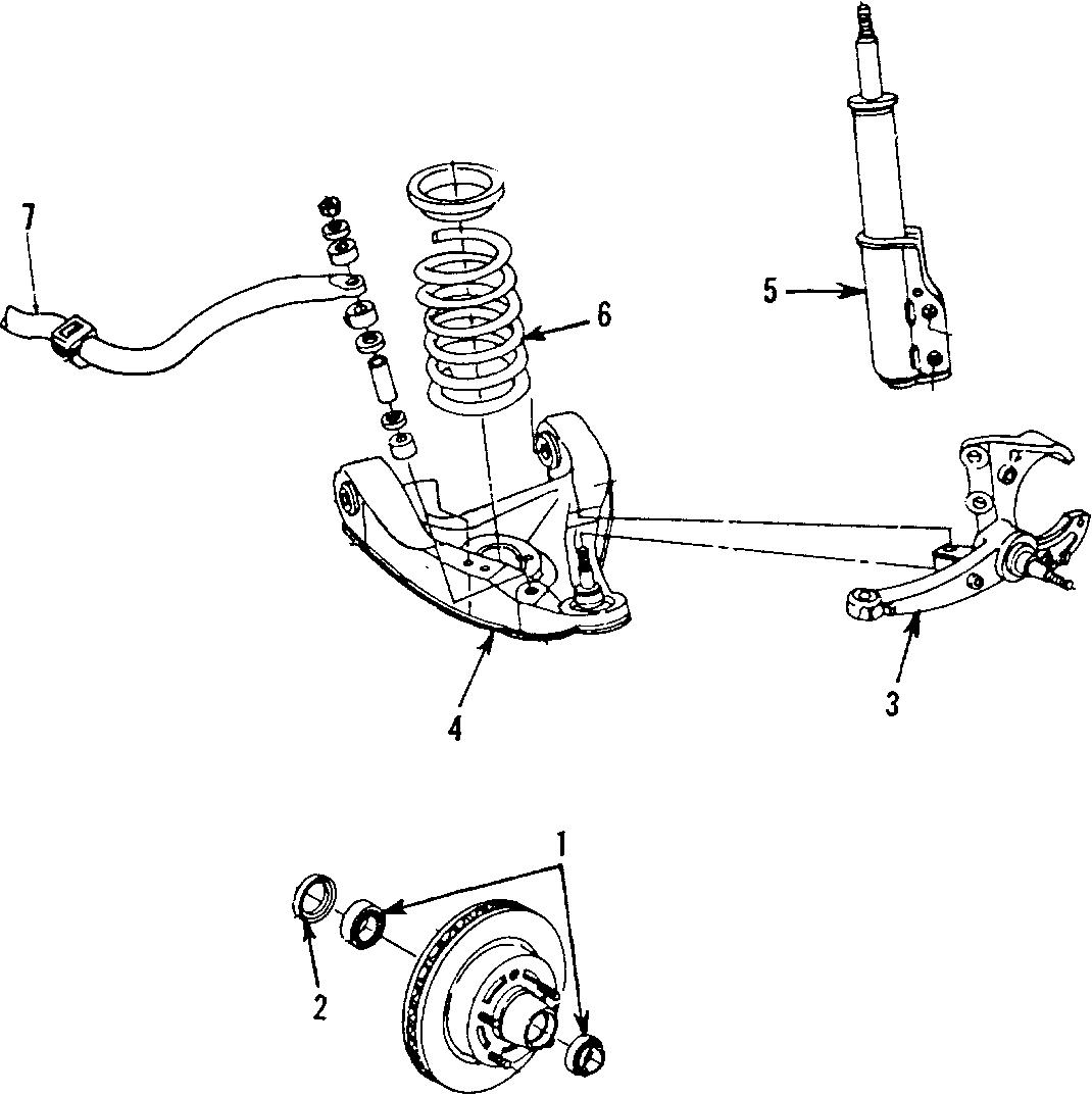 Chevrolet Camaro Suspension Strut  Front