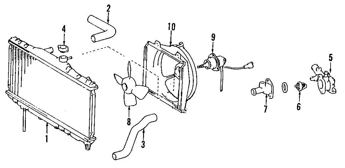 Chevrolet Prizm Relay  Fan Control  Prizm  Prizm  Ac  No
