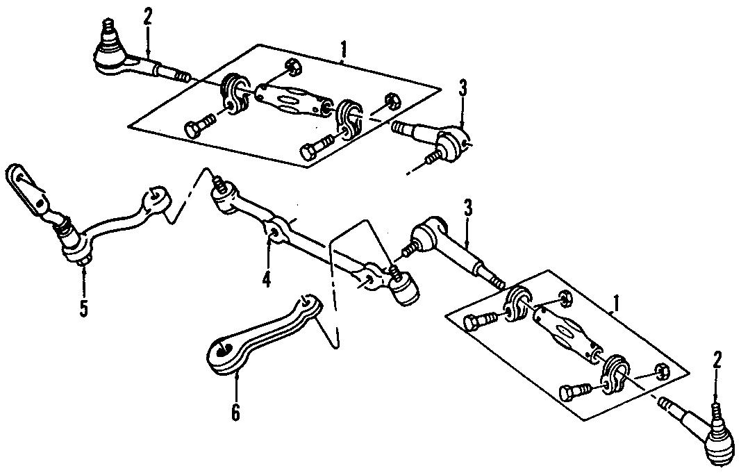 Chevrolet Blazer Steering Tie Rod End