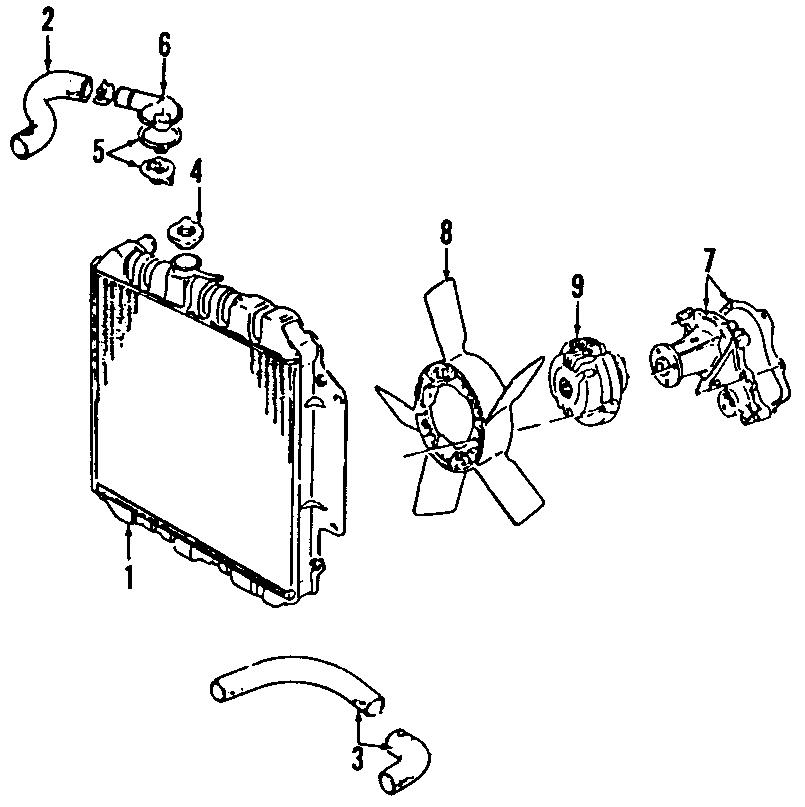 Chevrolet Tracker Engine Coolant Thermostat  2 0 Liter