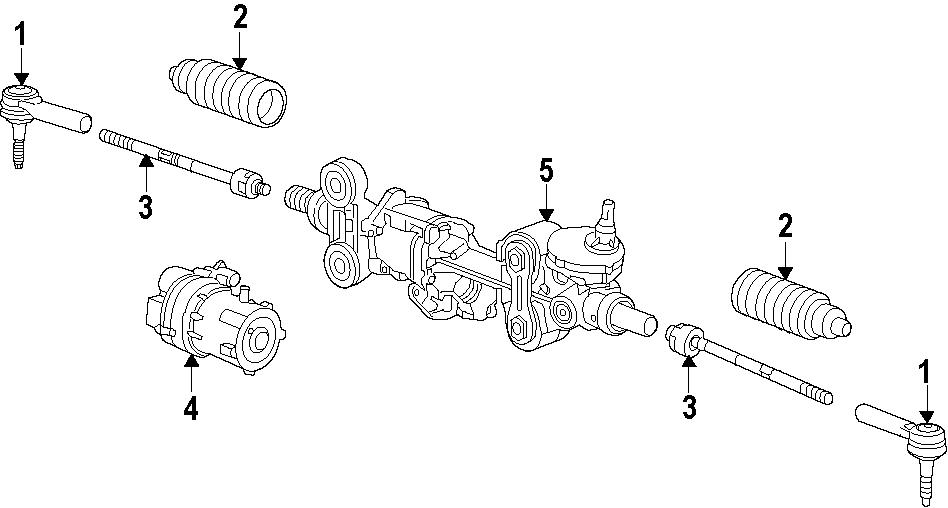 Chevrolet Silverado 1500 Steering Tie Rod End