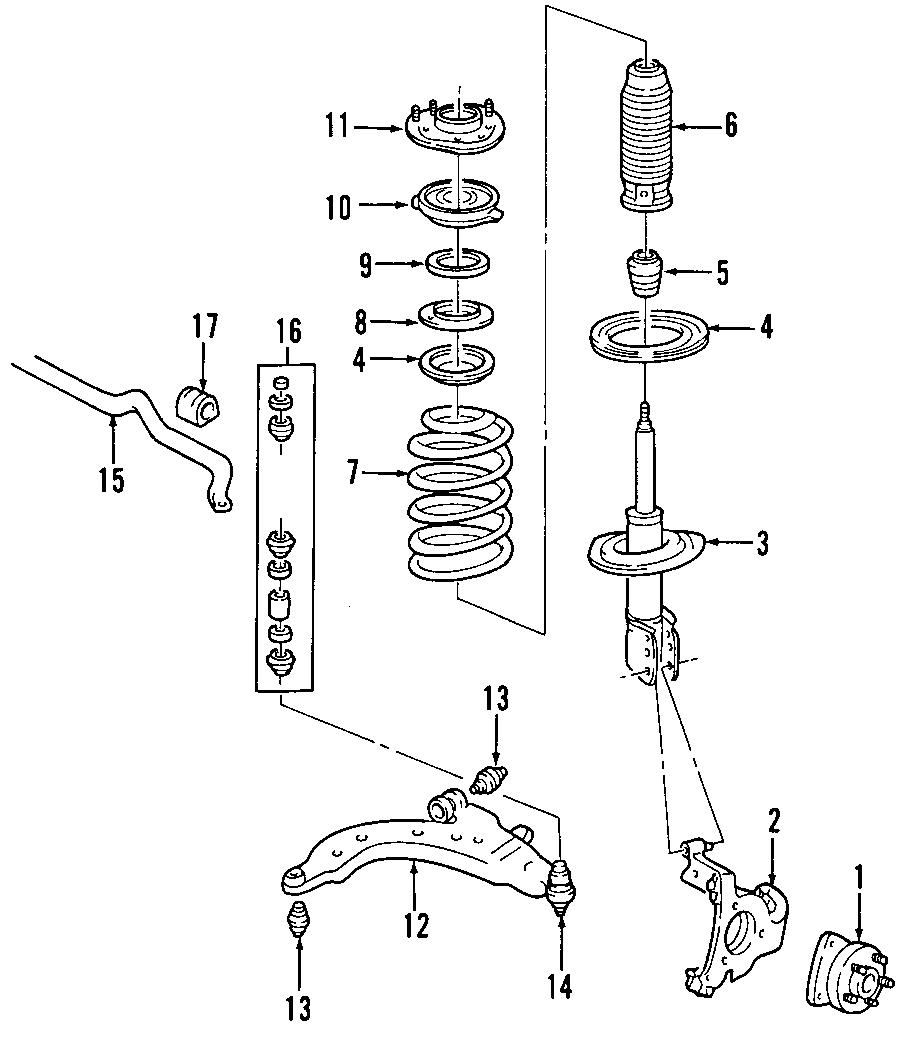 Pontiac Montana Suspension Control Arm  Front  Lower