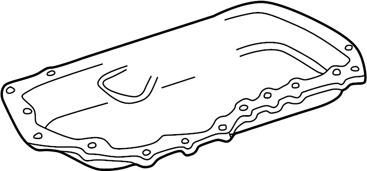 Pontiac Trans Sport Engine Oil Pan Gasket  Bearings