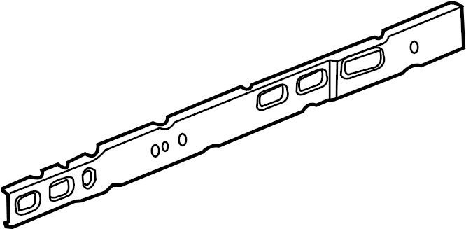 Pontiac Grand Prix Rocker Panel Reinforcement  Front  Rear  Lower