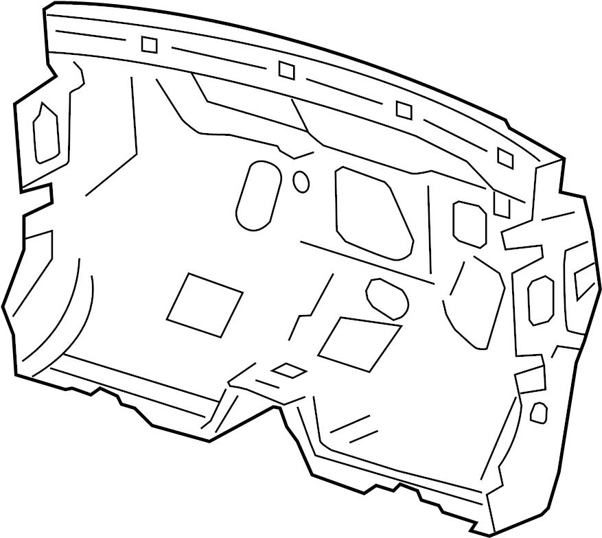Buick Verano Engine Compartment Insulation  Engine