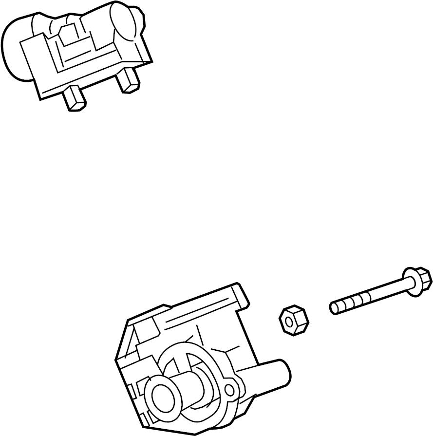 Chevrolet Camaro Engine Coolant Thermostat Kit  Liter  Cooling  Pump