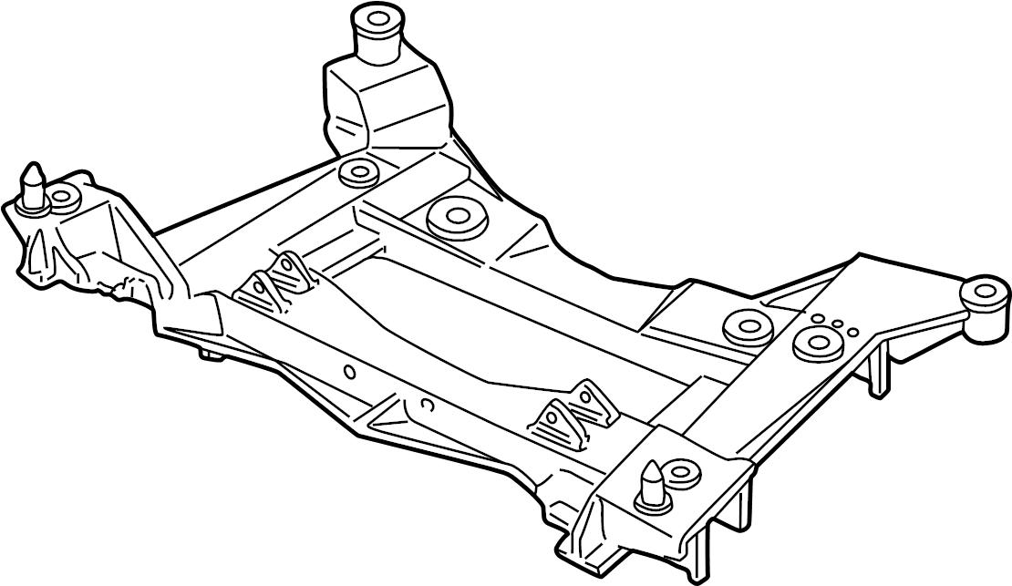 Chevrolet Corvette Engine Cradle  Base  U0026 427  Corvette  Corvette  6 0l  Corvette  6 2l  Xlr