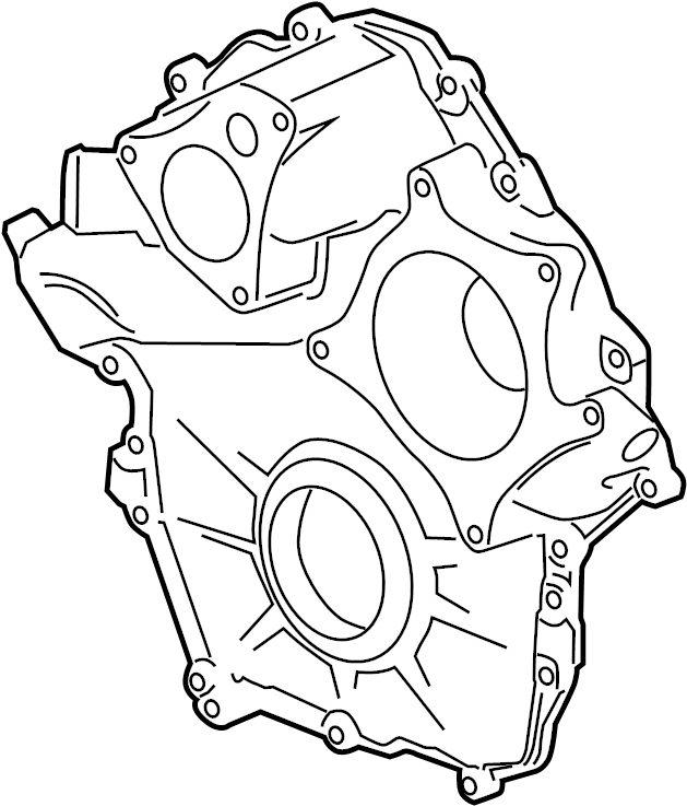 Cadillac Xlr Engine Timing Cover  Front