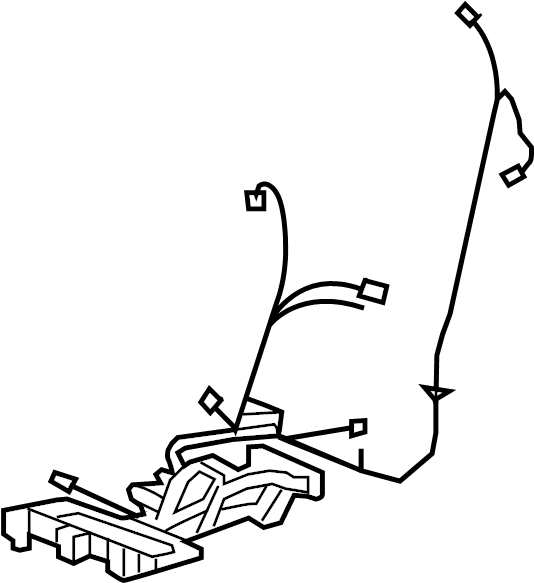 Cadillac Cts Power Seat Wiring Harness