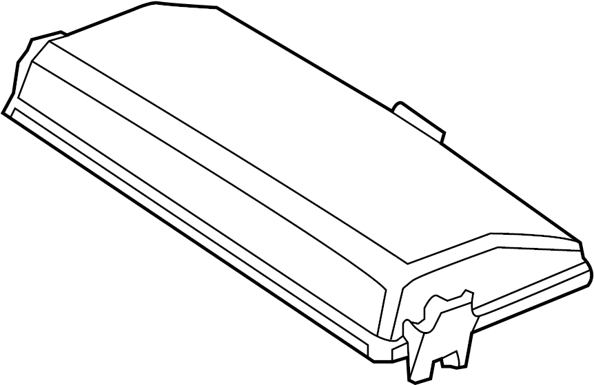 Chevrolet Impala Cover  Included With  Fuse  U0026 Relay Box Order By Description  Engine