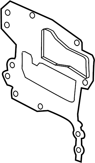 Chevrolet Aveo Engine Timing Cover Gasket  Front   1 8