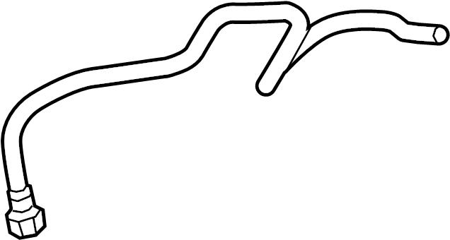 Chevrolet Cruze Brake Vacuum Hose  1 4 Liter