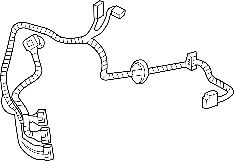 chevrolet corvette door wiring harness
