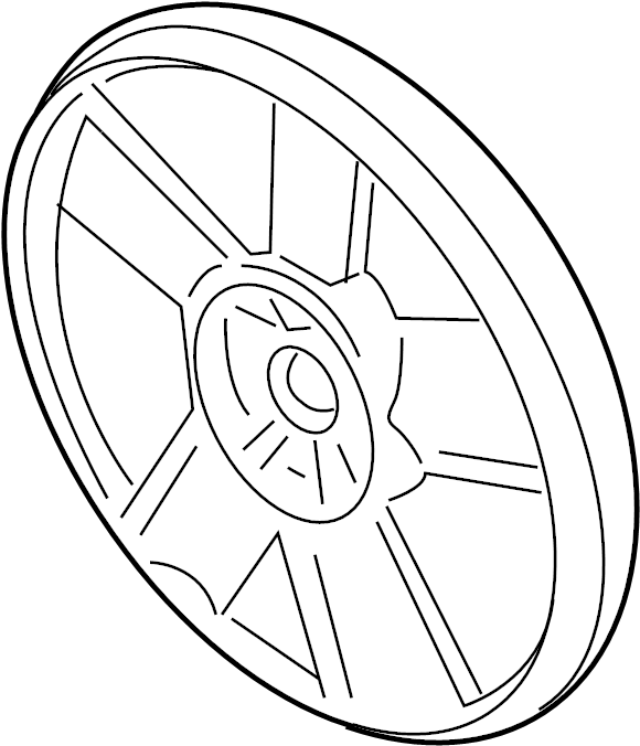 Chevrolet Cavalier Engine Cooling Fan Blade