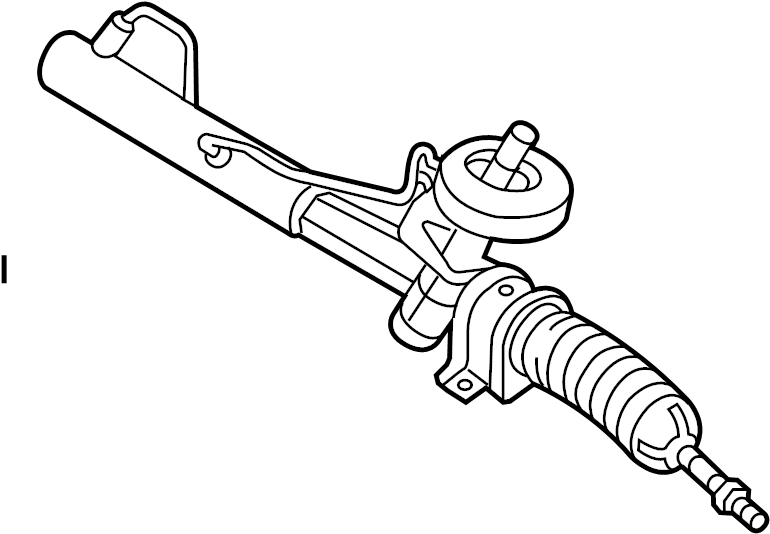 Chevrolet Aveo Rack And Pinion Assembly